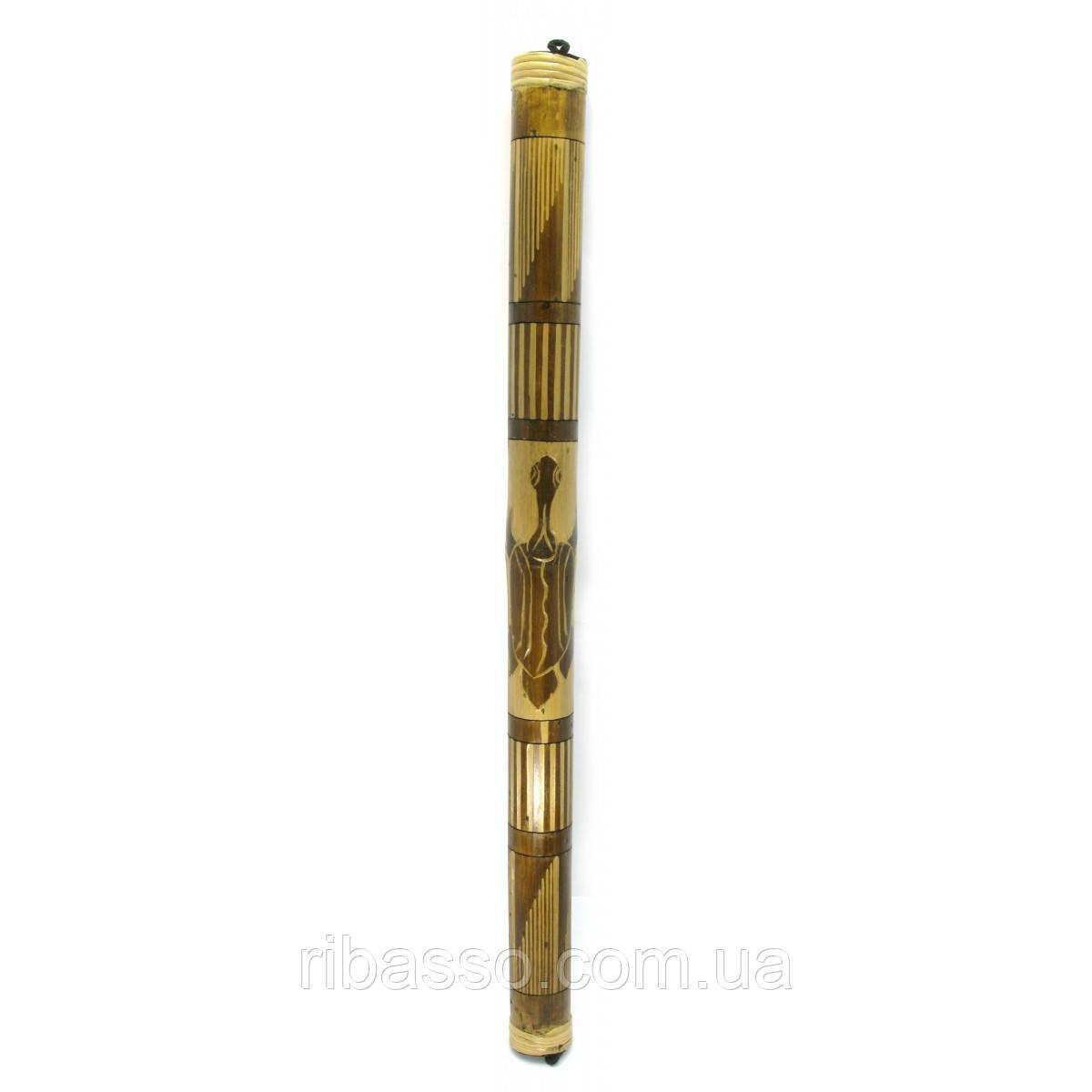 """Музичний інструмент """"Музика дощу"""" рейнстік різьблений 80х5х5 см 29682"""