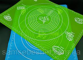 Силіконовий килимок для розкочування тіста GA Династія 21621