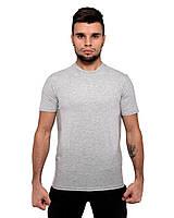 Футболка DNK MAFIA серая мужская хлопковая летняя футболка
