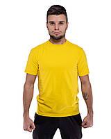 Футболка DNK MAFIA желтая мужская хлопковая летняя футболка