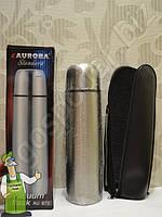 Термос из нержавейки Aurora 1 литр, фото 1