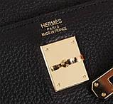 Сумка женская Эрмес  28, 32 см, натуральная кожа, фото 8
