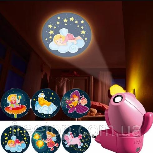 Нічник-проектор Haba «Чарівний ліхтар. Феї»