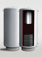 Буферная емкость (теплоаккумулятор) PlusTerm TAB-01N (теплообменник-нержавеющая сталь)