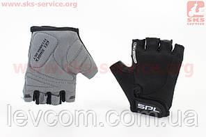 Рукавички без пальців чорні XS, з гелевими вставками під долоню SBG-1457