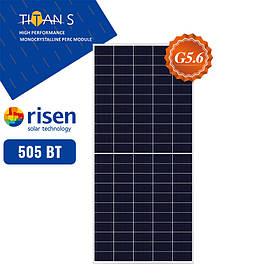 Солнечная панель Risen  RSM150-8-505M(солнечная батарея,фотомодуль,зеленый тариф,солнечная электростанция)