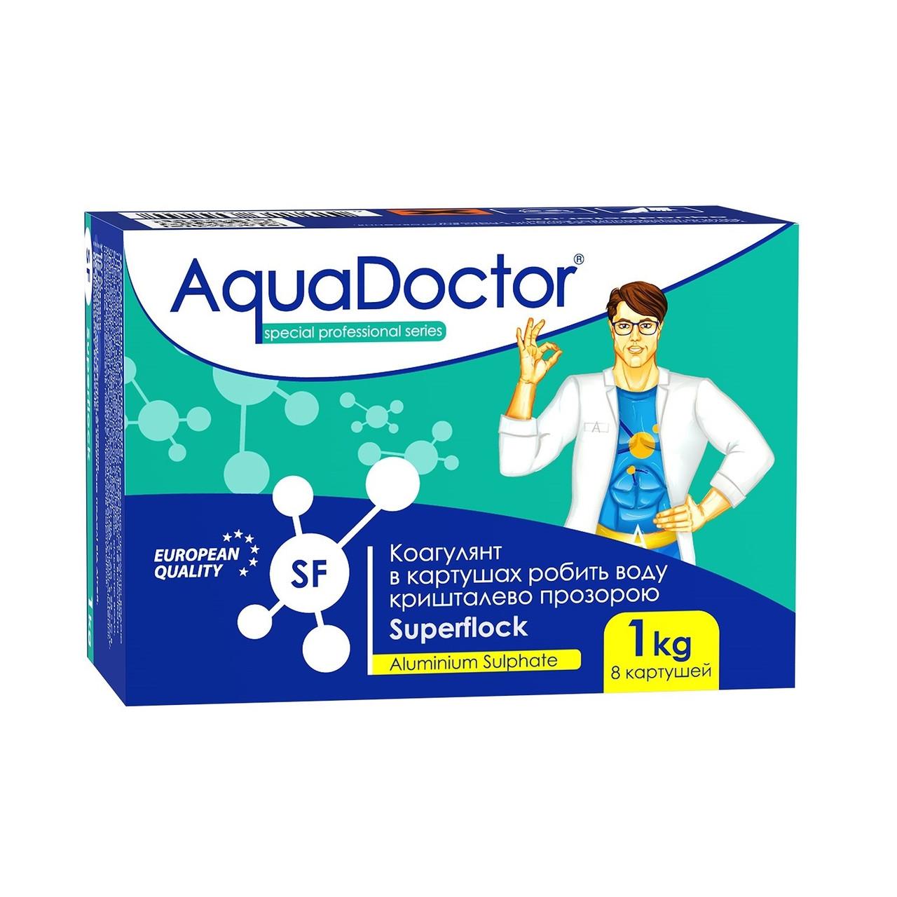Засіб проти каламутності AquaDoctor Superflock картуш 1кг