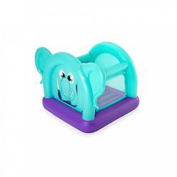 Батут детский надувной Bestway Слоник, ремкомплект, 203-155-135 см, 52355