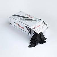 Перчатки черные нитриловые неопудренные Beybi Enjoy L 100 шт (50 пар)