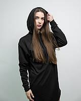 Женское платье худи чёрное DNK MAFIA - Elven