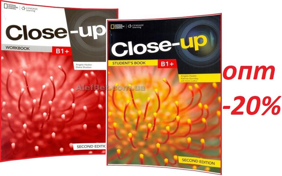 Английский язык / Close-Up. Student's+Workbook, Учебник+Тетрадь (комплект), B1+ / NCL