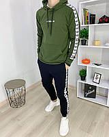 Спортивный костюм Adidas адидас мужской худи штаны хлопок весна лето Харьков