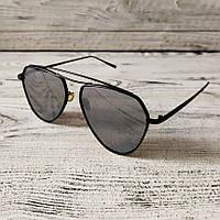 Модные мужские солнцезащитные очки, качественные черные очки авиатор от солнца Polaroid, Aviator капли