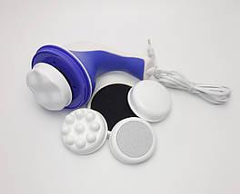 Масажер Relax and Ton с вращающейся насадкой- ручной антицеллюлитный массажер - вибрамассажер для всего тела