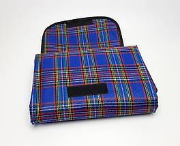 Підстилка для пікніка синя, водонепроникний плед на природу, килимок для пікніка, водонепроникний килимок