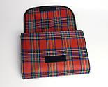 Водонепроницаемый плед для пикника (красный), подстилка на природу, коврик для пикника, непромокаемый коврик, фото 4