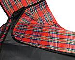Водонепроникний плед для пікніка (червоний), підстилка на природу, килимок для пікніка, водонепроникний, фото 6