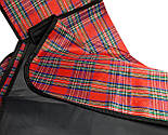 Водонепроницаемый плед для пикника (красный), подстилка на природу, коврик для пикника, непромокаемый коврик, фото 6
