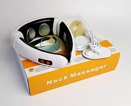 Массажер для шеи Neck Massager - домашний масажер для шеи - электростимулятор массажный шейный