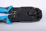 Инструмент для обжима коннекторов 8C8P, 6PxC, 4PxC, профессиональный, Hanlong, фото 5