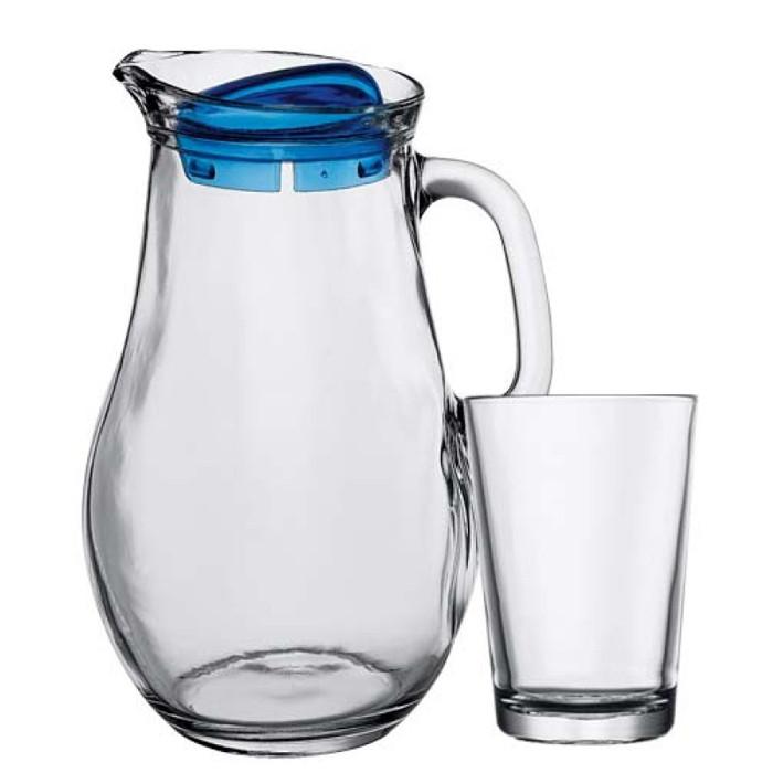 Набір глечик і стакани Pasabahce Bistro 97346