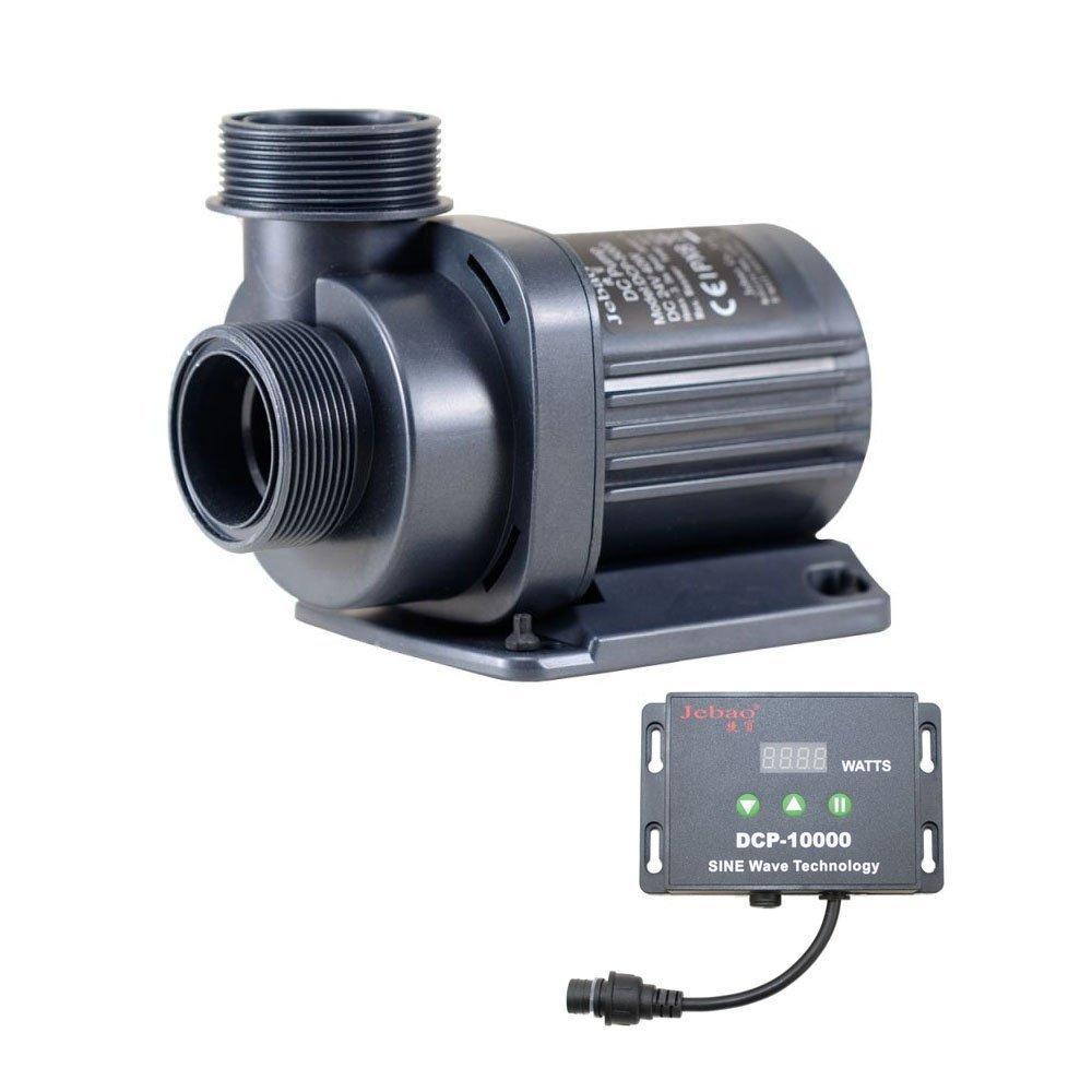 Насос Jebao DCP-10000 ультра тихий з контролером потужності 10000 л/год, 80W, 6 м