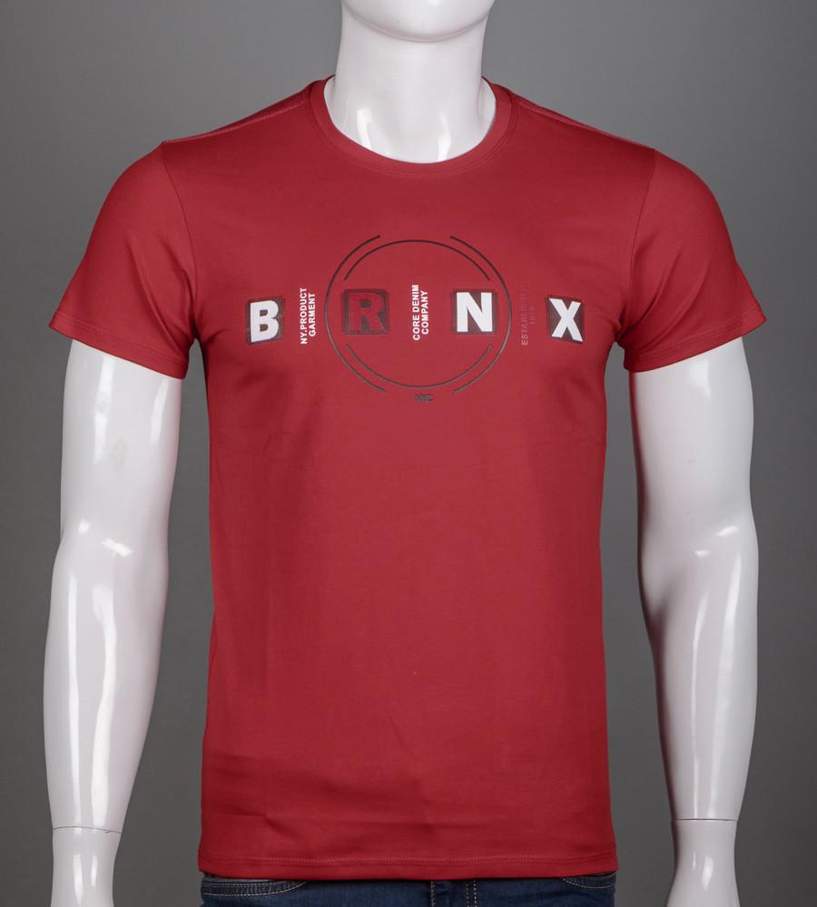 Футболка чоловіча BRONX (2115м), Бордовий
