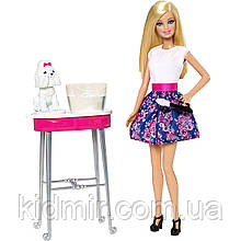 Кукла Барби Раскрась меня Barbie Color Me Cute CFN40