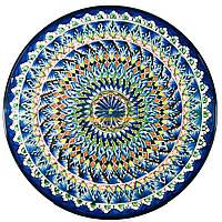 Ляган узбецький (тарілка узбецька) діаметр 42см ручна робота 4205-25