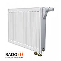 Rado панельный стальной радиатор  22 тип с нижним подключением 500 х 1200