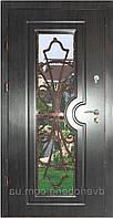 Входная дверь модель Т2 ВЕНГЕ КОВКА