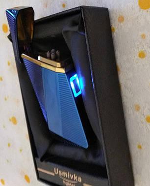 Зажигалка USB электрическая, фото 2