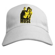 Бейсболки летние унисекс, мужские и женские с нанесением рисунков  Muse yellow