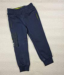 Спортивные штаны на  мальчика 4,6,8,10,12 лет, Венгрия, темно- синий