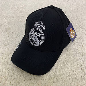 Кепка Реал Мадрид (Real Madrid) чорна