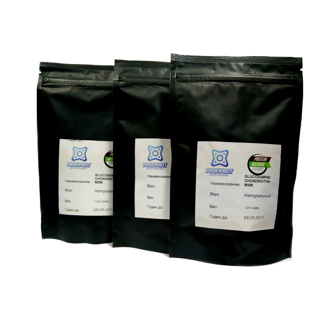 Для суставов GLUCOSAMINE & CHONDROITIN + MSM PROFIPROT, 120 капс * 850мг