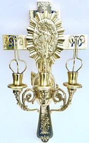 Трехсвечник с крестом пасхальный (Б)