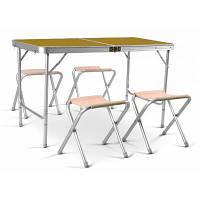 Набор кемпинговой мебели Time Eco TE 042 AS и 4 стула для природы дачи и вашего двора практичный и легкий