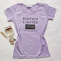 Жіноча футболка з принтом - ОПТОМ!, фото 1