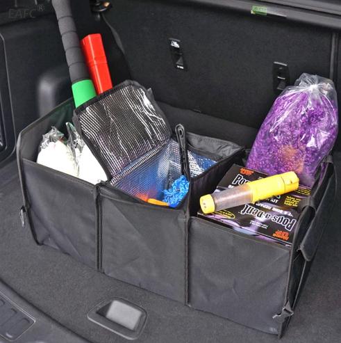 Органайзер автомобильный с термо отсеком в багажник.