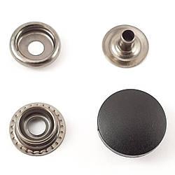Кнопка №61 с Черной пластиковой шляпкой 17мм (720шт.)