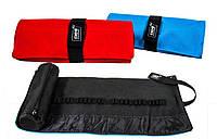 Пенал рулон Neo Line для карандашей 24шт.з мешочком б / нап.красный + синий