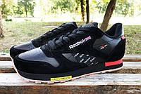 Кроссовки Reebok classic black/red