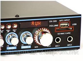 Стерео усилитель UKC OK-309 Karaoke, фото 2