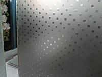 Стекло узорчатое Пунто бронза с прирезкой в размер
