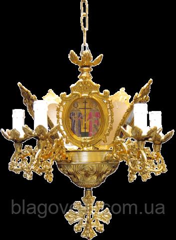 Панікадило Грец. 34-208 5 свічок