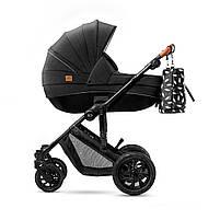 Универсальная коляска 2 в 1 Kinderkraft Prime Black + MommyBag (KKWPRIMBKMB200), фото 2