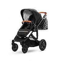 Универсальная коляска 2 в 1 Kinderkraft Prime Black + MommyBag (KKWPRIMBKMB200), фото 5