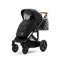 Универсальная коляска 2 в 1 Kinderkraft Prime Black + MommyBag (KKWPRIMBKMB200), фото 8
