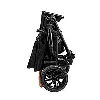 Универсальная коляска 2 в 1 Kinderkraft Prime Black + MommyBag (KKWPRIMBKMB200), фото 9